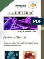 Charla de Difteria