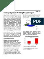 DEA Fentanyl Signature Profiling Program Report-Oct-2019