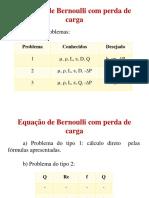 Bernoulli com perda de carga