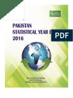 Pakistan Statistical Year Book, 2016