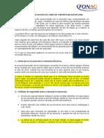 Protocolo de Acción en Caso de Tormentas Eléctricas