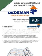 Adaptarea Strategică a Companiei DEDEMAN La Exigențile