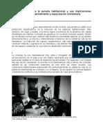 Una aproximación a la penuria habitacional y sus implicaciones sociopsicológicas