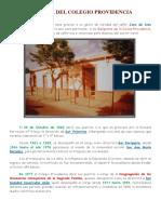 Historia Del Colegio Providencia
