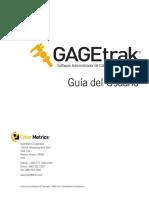 GAGEtrak 6.8 Guia de Administrador y Guia de Usuario