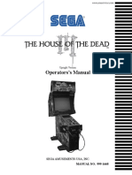 The House of The Dead 3 - ARCADE - Manual