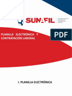 Planilla electrónica