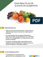 Buenas Practicas de Manipulacion de Alimentos
