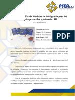 Wppsi folleto