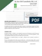 2. a La Luz Del Laudato Si y El DOCAT- Grupo 1