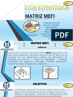 Exposicion Matriz Mefi