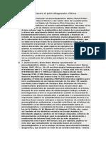 Nuevas Aportaciones Al Psicodiagnosto Clinico