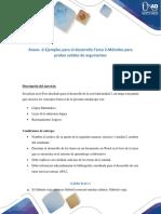 Anexo-2-Ejemplos Para El Desarrollo de La – Tarea 2 – Métodos Para Probar Validez de Argumentos