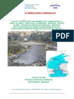 ESTUDIO HIDRÁULICO_HIDROLÓGICO DE PUENTES