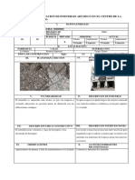 Fichas de observación y valoración patrimonial