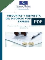 Preguntas y Respuestas Del Divorcio Voluntario Express