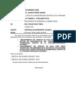 1.0 CARTA N° 001 PRESENTACION DE EXP. TEC. MACCAHUAYCCO-CCOLLPACHINA