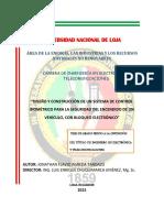 Agreda Tandazo, Jonathan Flavio