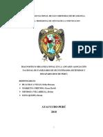 DIAGNOSTICO ORGANIZACIONAL EN LA ANFASEP (ASOCIACIÓN NACIONAL DE FAMILIARES DE SECUESTRADOS, DETENIDOS Y DESAPARECIDOS DE PERÚ)