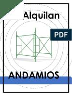ROTULO ANDAMIOS