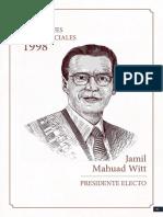 Elecciones Presidenciales 1998 Jamil Mahuad - CNE