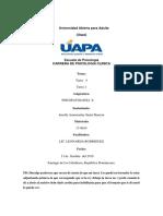 Tarea 4 y 1 de Psicopatologia II Juselfy
