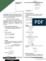 Sistema de ecuaciones lineales 4° 2019