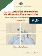 Administracion de Servicios de Alimentacion y Nutricion Tejada