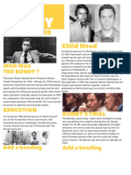 ted bundy one pager