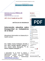 Intervención educativa sobre bioseguridad en trabajadores de la Salud.pdf