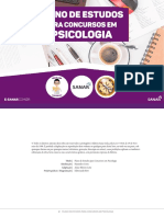 Plano de Estudos Para Concursos Em Psicologia