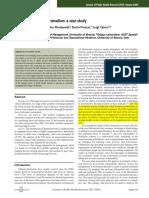 Clinical Laboratory Automation a Case Study
