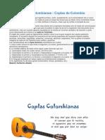 Coplas Colombianas