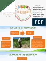 Ley de La Promoción Del Sector Agrario