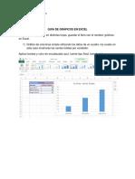 Ejercicios Gráficos en Excel
