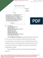 PFOA Lawsuit Ag v 3m Dupont Etc
