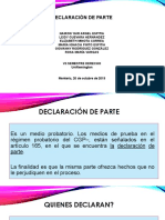 Diapositivas Declaracion de Parte (2)
