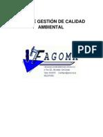 Plan de La Norma Iso 9001 2015 Fagoma