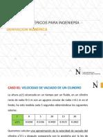 S5-DERIVACION NUMÉRICA