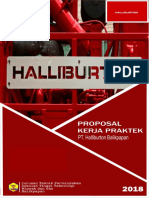 Proposal to Halliburton