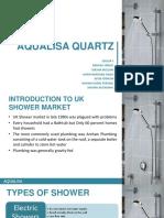 Group 5 Section B Aqualisa Quartz