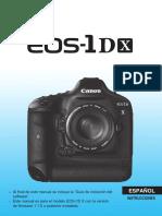 EOS-1D X Instruction Manual ES