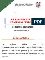 1. Evaluación de Políticas Públicas