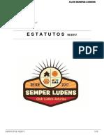 Estatutos Club Semper Ludens 10/2017