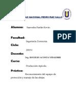 Apicola Informe de Practica 1