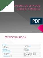Frontera de Estados Unidos y Mexico