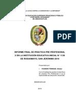 Modelo Informe de Práctica 2019