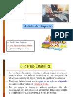 Aula 6 - Medidas de Dispersão