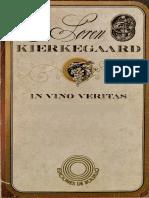 Kierkegaard in Vino Veritas (Discurso de v Eremita)