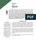 Artículo 22. La Doctrinas Del Milenio. Alumno